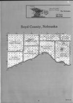Boyd County Index Map 001, Boyd and Keya Paha Counties 1990